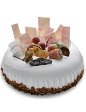 巧克力片水果装点,内里的草莓馅布丁更是甜美诱人的绝佳滋味。