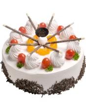 健康水果蛋糕――每一根白巧克力棒都连接着一颗美丽的心!
