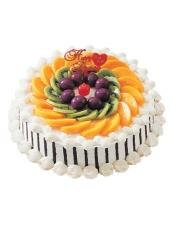 糕胚:原味胚 装饰:新鲜水果