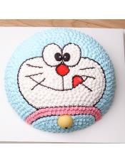 【罗莎机器猫】 卡通蛋糕 新鲜水果 送货上门 生日蛋糕,请提前24小时付款预订