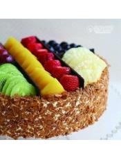 外形:圆形 口味:木糖醇口味 内坯:木糖醇内坯(蛋糕上水果含糖)