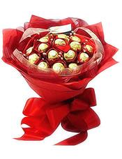 15颗金装巧克力