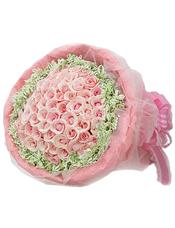 99支戴安娜粉玫瑰