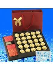 【快递】费列罗巧克力 25粒 方形 商务送礼 七夕教师节礼物