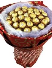 33颗费列罗巧克力