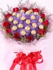 11朵红玫瑰,19颗巧克力