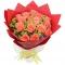 18枝粉玫瑰