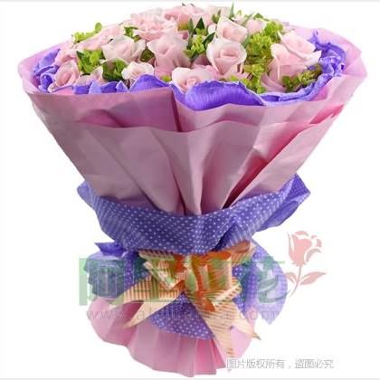 29枝玫瑰花/粉玫瑰