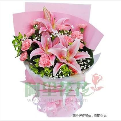11枝混搭花/