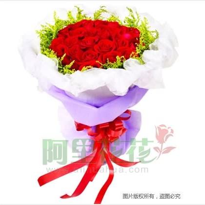 50枝玫瑰花/红玫瑰