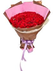 99枝红玫瑰。
