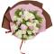 30枝白玫瑰