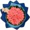 66枝粉玫瑰