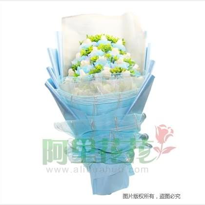 20枝玫瑰花/白玫瑰