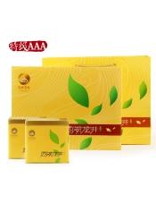 品牌商家:顶峰产 地:浙江杭州产品规格:250g/盒等 级:特级AAA保 质 期: 18个月存储方法:存放于清洁、通风、避光、干燥、无异味环境。