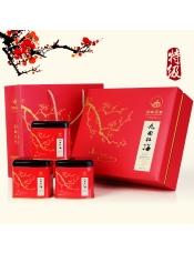 【顶峰】特级A九曲红梅尊贵礼盒(铁罐)250g