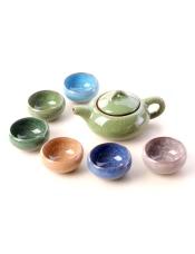 品牌商家:宏达陶瓷产 地:福建德化产品规格:6个茶杯、1个茶壶毛 重: 740克