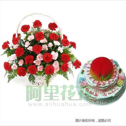 �r花蛋糕/