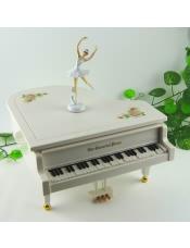钢琴音乐盒跳舞芭蕾八音盒(大号)