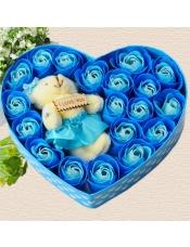 19朵香皂花创意礼物