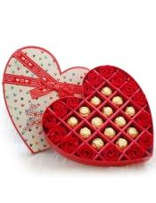 香皂花费列罗巧克力礼盒