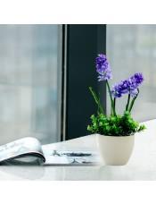 风信子装饰塑料花 家居客厅绿植盆栽假花装饰花