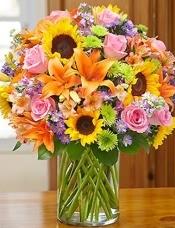 玫瑰,百合,向日葵等相�P配花