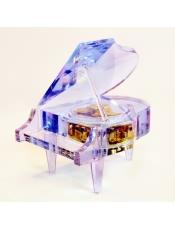 水晶钢琴八音盒