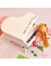 免费刻字木质钢琴音乐盒