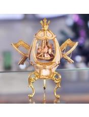 皇室蛋雕镂空旋转木马