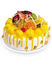 鲜奶蛋糕,水果(时令水果)