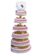 六层鲜奶蛋糕,鲜奶玫瑰花