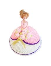 芭比娃娃鲜奶蛋糕