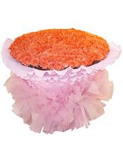 999枝艳粉色玫瑰