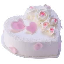 蛋糕图片:浪漫你我