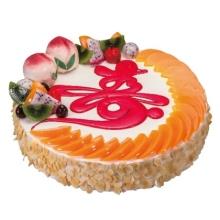好利来祝寿生日蛋糕