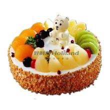 水果卡通蛋糕