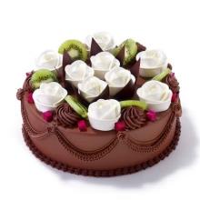 蛋糕图片:好运连连