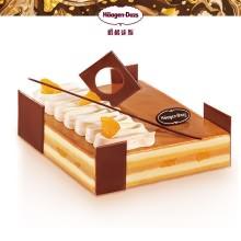 哈根达斯慕斯蛋糕,香草太妃风味焗梨蛋糕850g,冬季限定款