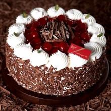 生日蛋糕图片:85度C-黑森林