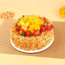 蛋糕图片:芒果撒哈拉