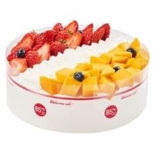 蛋糕图片:甜蜜双拼
