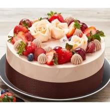 蛋糕图片:秘密花园