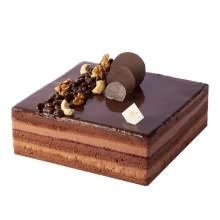 蛋糕图片:黑巧绅士蛋糕