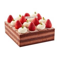 蛋糕图片:黑巧甜心