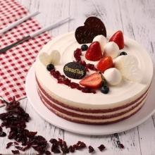 完莓主义蛋糕图片