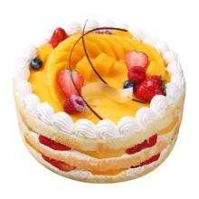 面包新语水果蛋糕,提前5小时以上下单