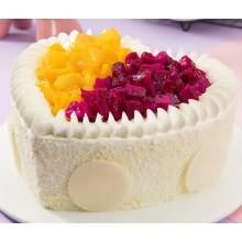 米旗稀奶油蛋糕