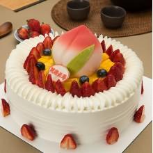 米旗祝寿蛋糕