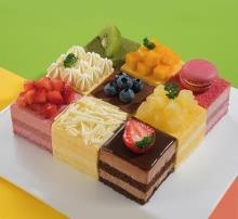慕斯蛋糕9种口味,100%使用进口天然稀奶油